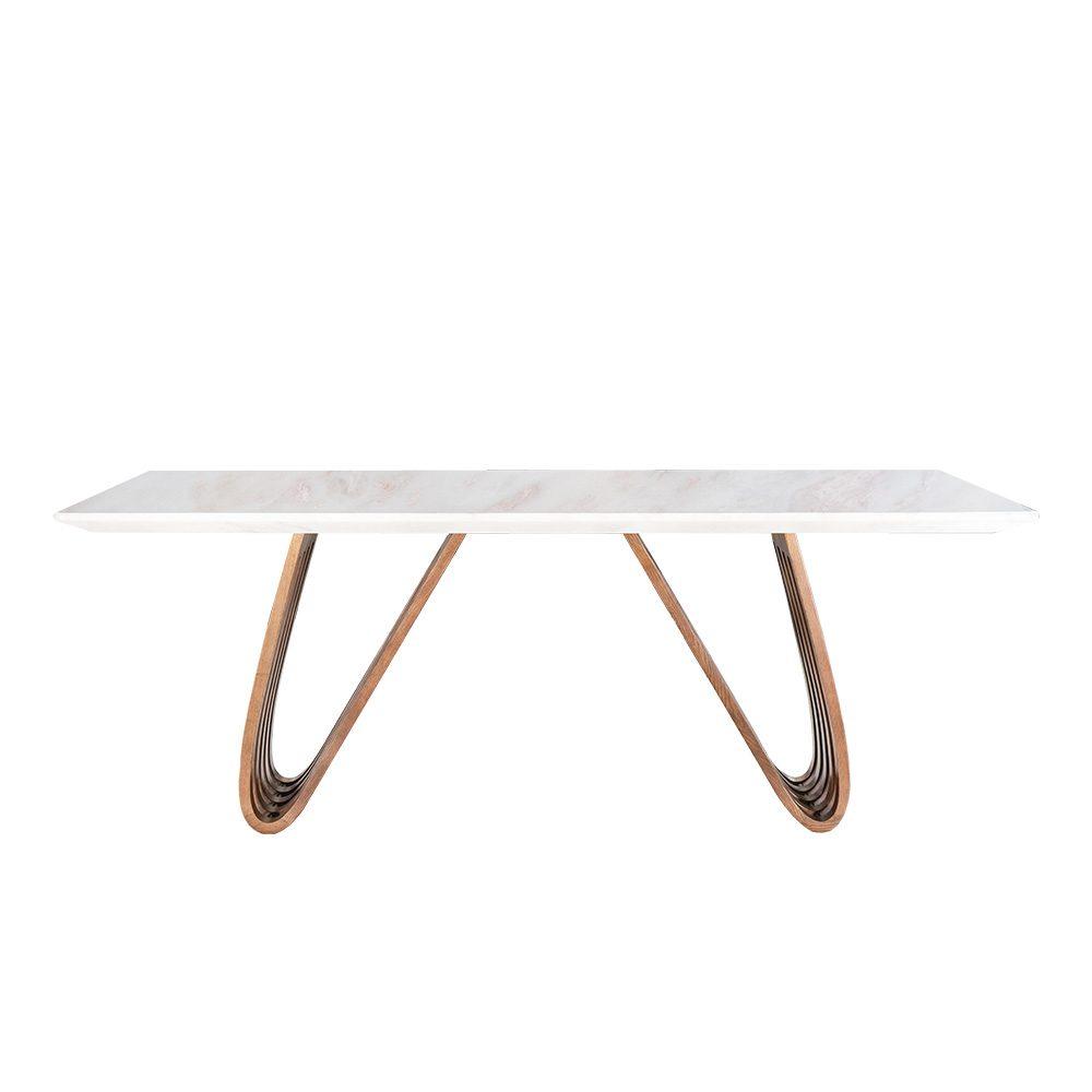 Rozel Khayu Rose Jade Marble Dining Table Top