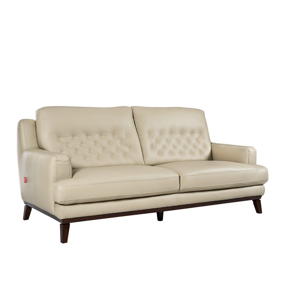 Rozel Lifestyle Latex Seat Leather Sofa Living room