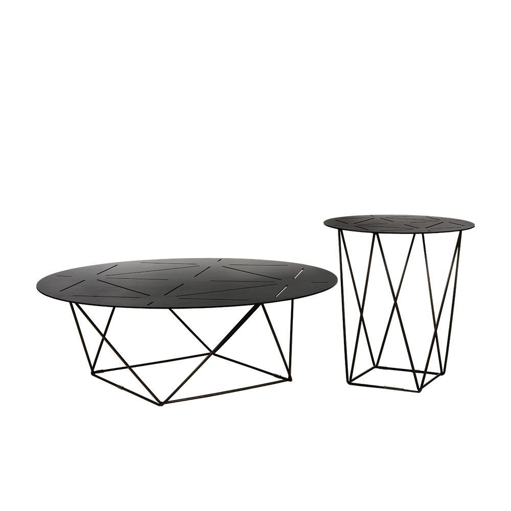 Rozel Premium Pairings Round Centre Dark Copper Iron Table Top Living Room