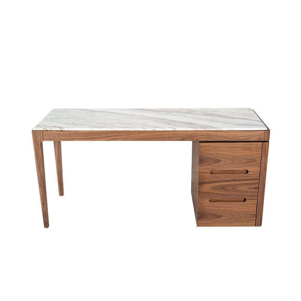 Rozel Premium Pairings White Marble Dressing Table Top Living Room