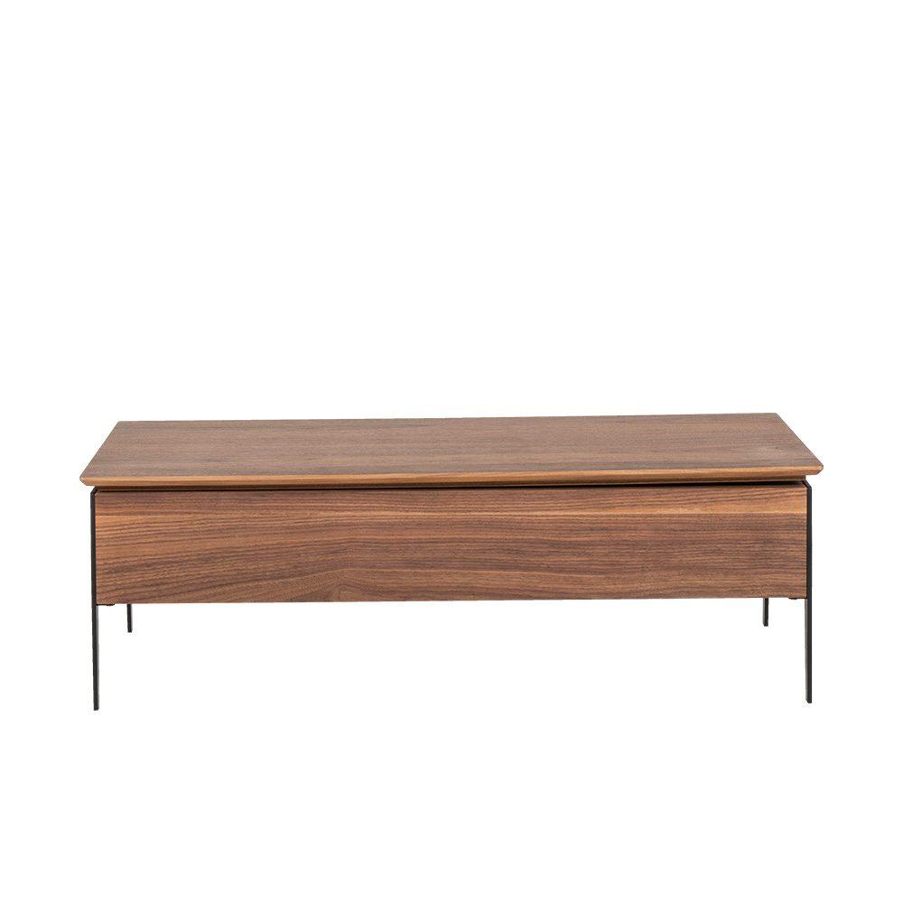 Rozel Premium Pairings Centre Walnut Brown Table Top Living Room