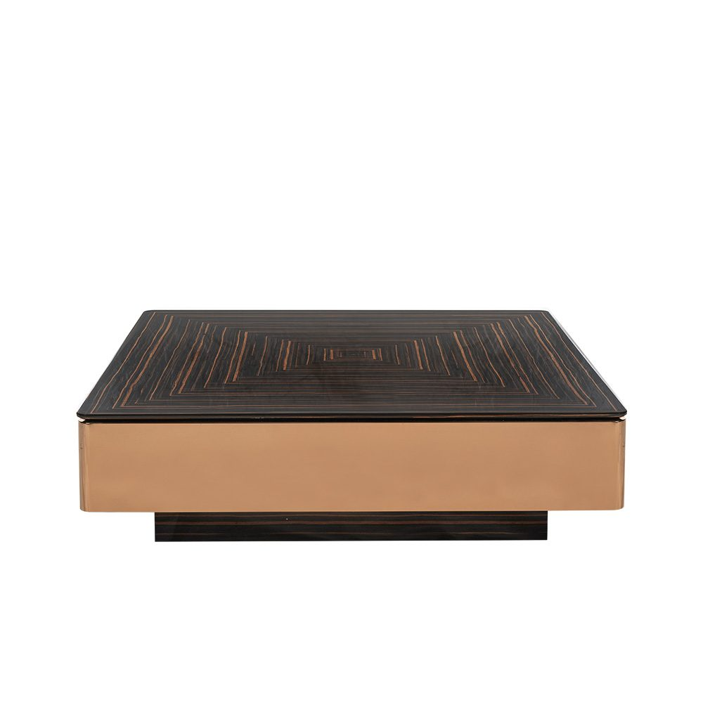Rozel Premium Pairings Coffee Woodwork Ebony Table Top Living Room