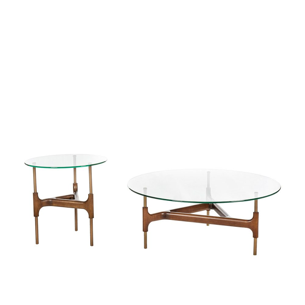 Rozel Premium Pairings Centre Tempered Glass Table Top Living Room